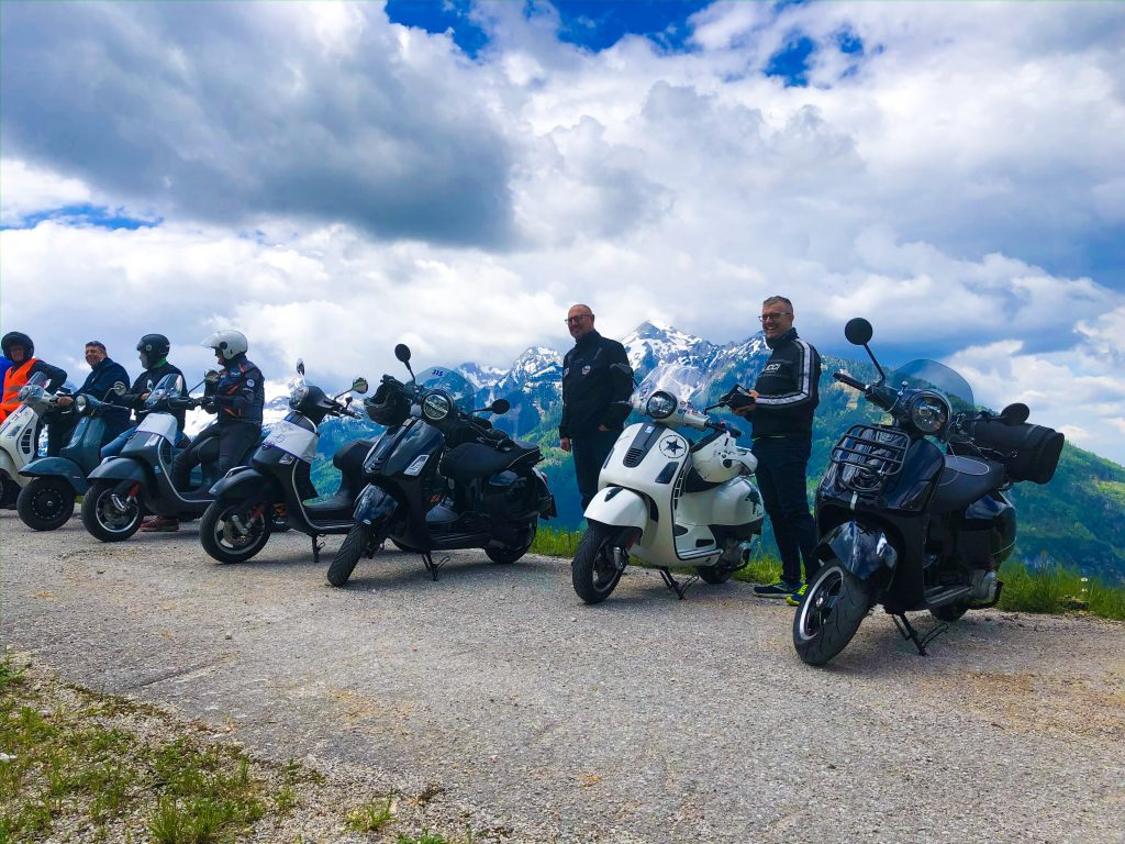 Steel Roller - Rollerclub Oberösterreich – 1. Vespa Rally Spital am Pyhrn inkl. Treffen