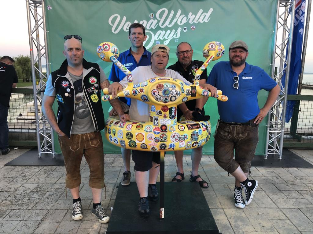 Steel Roller - Rollerclub Oberösterreich – Vespa World Days 2019 - VWD19