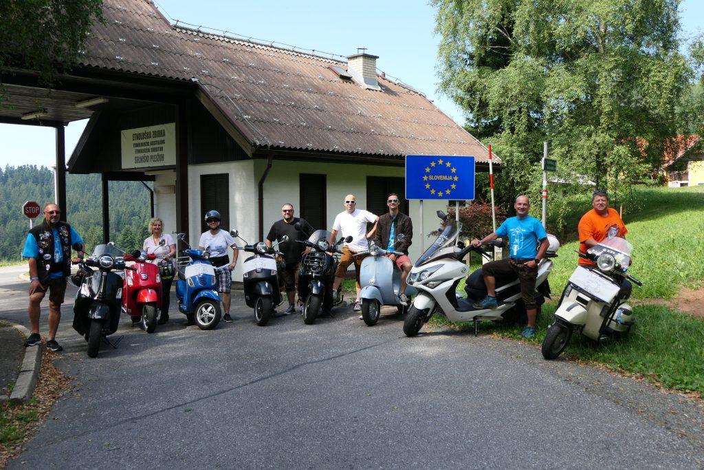 Steel Roller - Rollerclub Oberösterreich – 4. Steira Vespa in Leutschach