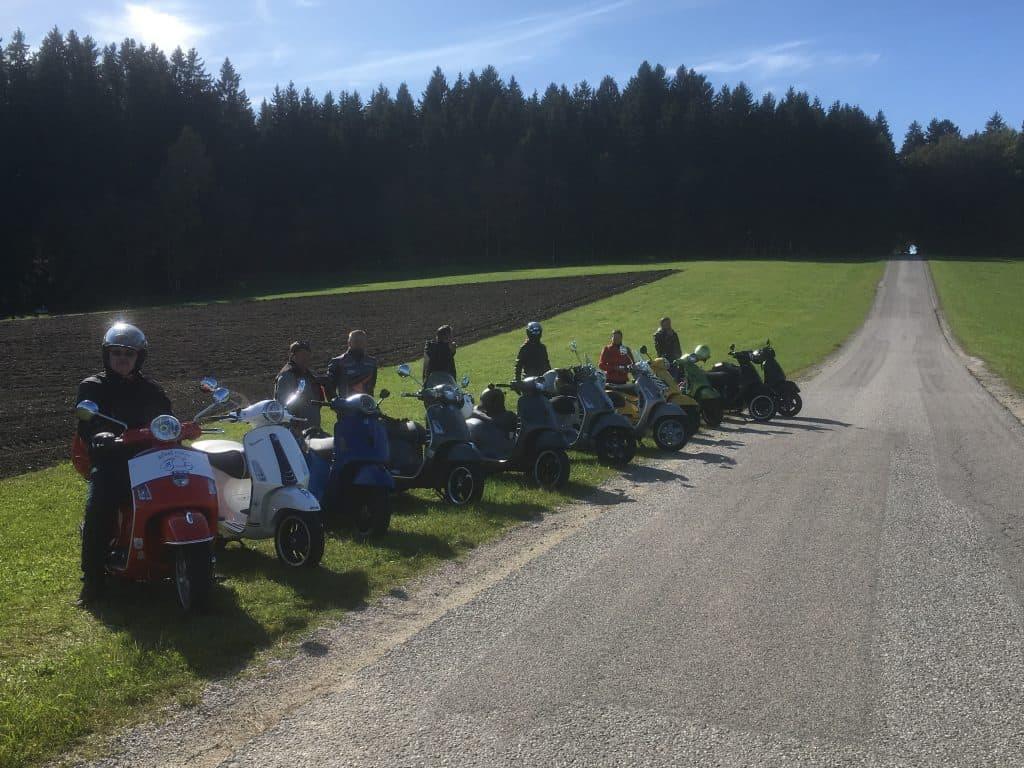 Steel Roller - Rollerclub Oberösterreich - Herbstausfahrt 2019