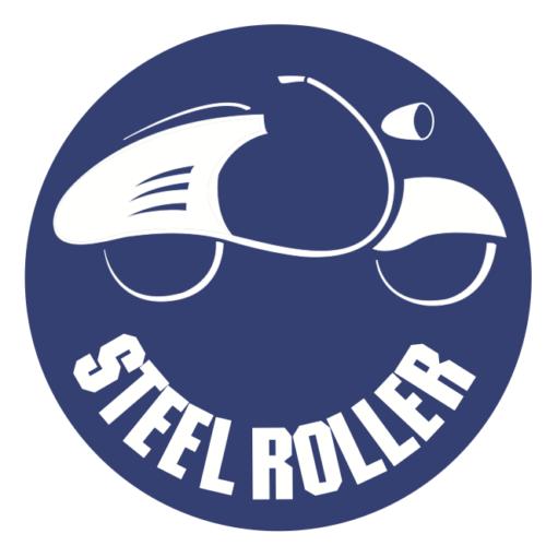 Steel Roller – Rollerclub Oberösterreich – Logo Roller Magnet Kreisförmig